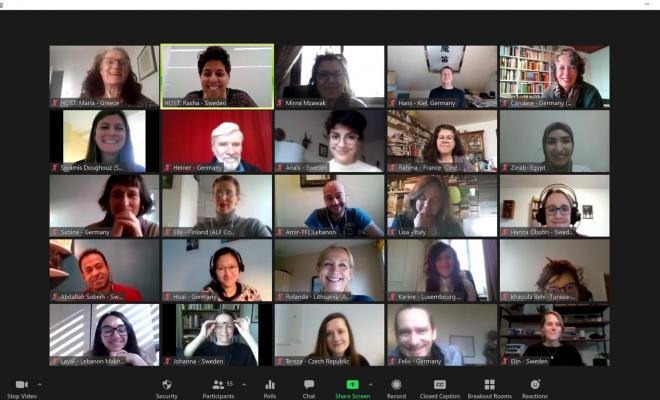 Screenshot Participants Forum Celebrating Our Diversity